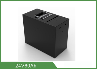 Chine Batterie rechargeable portative 24V 60Ah de phosphate de fer de lithium fournisseur