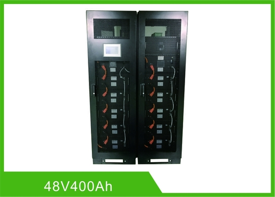 Chine ESS UPS LiFePO4 Rechargeable Batteries Communication 48V 400Ah RS485 Modbus distributeur