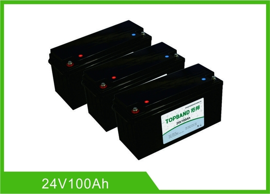 Chine batterie au lithium profonde de cycle de 100AH 24V, communication rechargeable de Bluetooth de la batterie Lifepo4 d'UPS usine